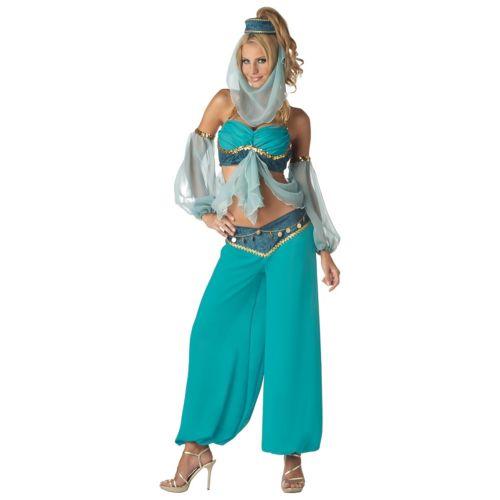 Genieレディス 女性用 セクシー Belly Dancer セクシー Harem ガール 女性用 アラブ人 アラビアンナイトian 変装 Princess ハロウィン コスチューム コスプレ 衣装 変装 仮装, 3Dくつした専門店mintbaby:86a6d5a7 --- sunward.msk.ru