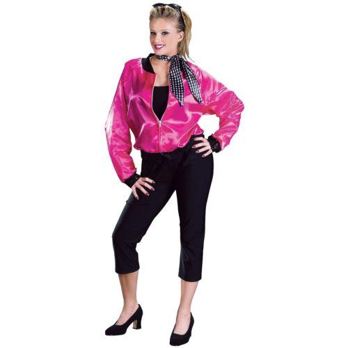 Pink T-Bird Sweetie Sweetie 大人用 1950s 仮装 Ladies ジャケット ハロウィン 変装 コスチューム コスプレ 衣装 変装 仮装, 吉松町:03e7eaac --- osglrugby-veterans.com