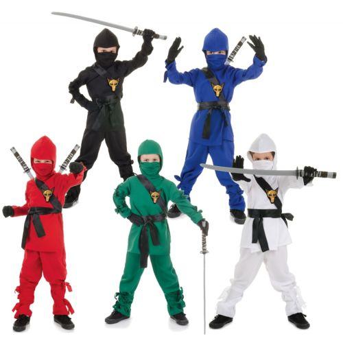 【全品P5倍】Ninja Warrior 子供用 ガールズ クリスマス ハロウィン コスチューム コスプレ 衣装 変装 仮装