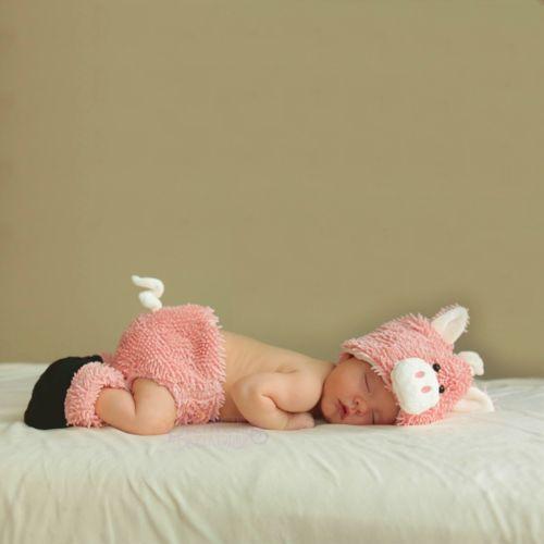 ベイビー PigNewborn Diaper Cover Set Up Outfit ハロウィン コスチューム コスプレ 衣装 変装 仮装