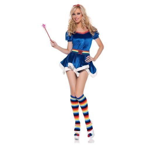 【ポイント最大29倍●お買い物マラソン限定!エントリー】Rainbow Bright 大人用 80s Cartoon ハロウィン コスチューム コスプレ 衣装 変装 仮装