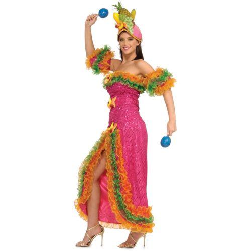 買得 Deluxe Carmen Miranda 大人用 レディス 女性用 Grand Heritage Collection Carnivale クリスマス ハロウィン コスチューム コスプレ 衣装 変装 仮装, コホクチョウ 0d341ac5