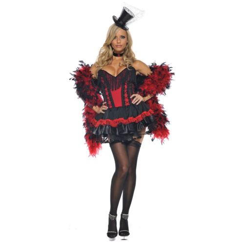 Saloon ガール 大人用 Moulin Rouge Can Can Burlesque クリスマス ハロウィン コスチューム コスプレ 衣装 変装 仮装