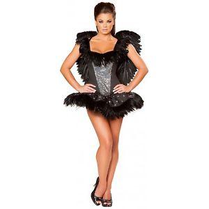 【マラソン全品P5倍】ブラック Swan 大人用 レディス 女性用 セクシー クリスマス ハロウィン コスチューム コスプレ 衣装 変装 仮装