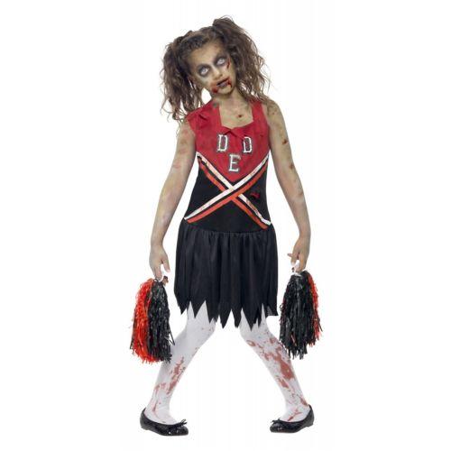 ゾンビ 幽霊 お化け Cheerleader キッズ 子供用 クリスマス ハロウィン コスチューム コスプレ 衣装 変装 仮装