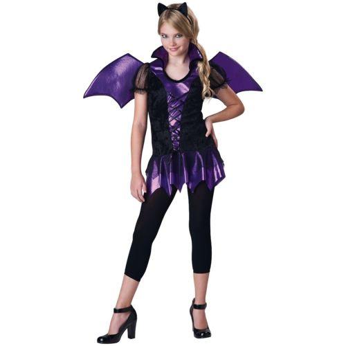 ガール BatTween and キッズ 子供用 バンパイア 吸血鬼 ハロウィン コスチューム コスプレ 衣装 変装 仮装