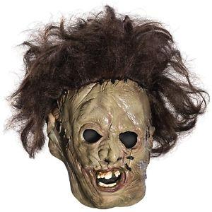 【ポイント最大29倍●お買い物マラソン限定!エントリー】Leatherface 3/4 マスク Texas Chainsaw Massacre Child BoysAcsry ハロウィン コスチューム コスプレ 衣装 変装 仮装