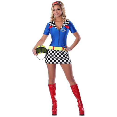Race Car Driver 大人用 セクシー Speed Racer ハロウィン コスチューム コスプレ 衣装 変装 仮装
