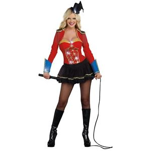 Ringmasterレディス 女性用 セクシー クリスマス ハロウィン コスチューム コスプレ 衣装 変装 仮装