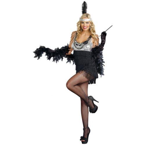 フラッパーRoaring 20s セクシー 大人用 クリスマス ハロウィン コスチューム コスプレ 衣装 変装 仮装