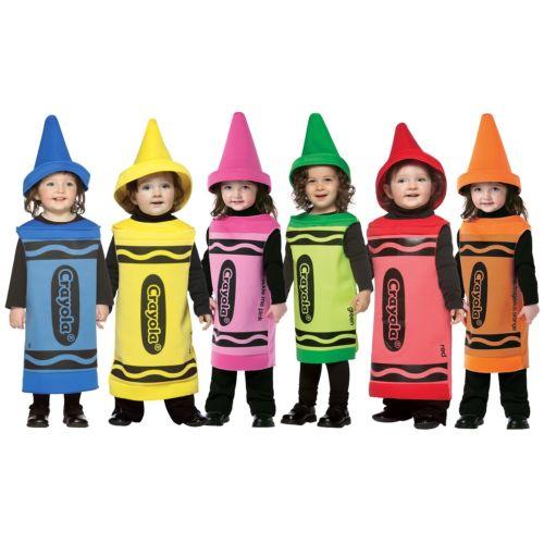 【ポイント最大29倍●お買い物マラソン限定!エントリー】Crayola Crayonベイビー Crayola ハロウィン コスチューム コスプレ 衣装 変装 仮装