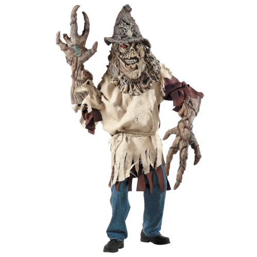 【9月1日ポイント10倍】Scarecrow Creature Reacher 大人用 Men 怖い モンスター クリスマス ハロウィン コスチューム コスプレ 衣装 変装 仮装