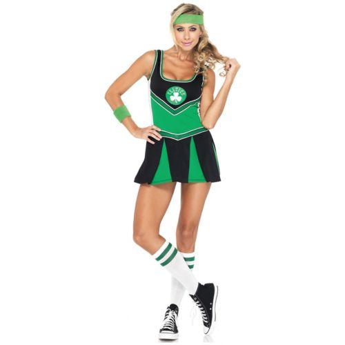 【ポイント最大29倍●お買い物マラソン限定!エントリー】Boston Celtics チアリーダー 大人用 Basketball Player ハロウィン コスチューム コスプレ 衣装 変装 仮装