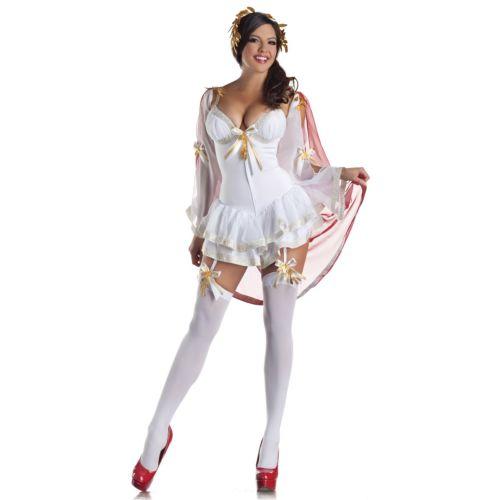 Greek Goddesswith built-in Body Shaper セクシー 大人用 クリスマス ハロウィン コスチューム コスプレ 衣装 変装 仮装
