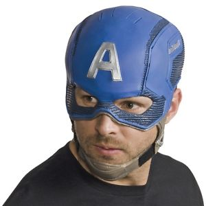 【ポイント最大29倍●お買い物マラソン限定!エントリー】Captain America キャプテンアメリカ Mask 大人用 Avengers アベンジャーズSuperhero ハロウィン コスチューム コスプレ 衣装 変装 仮装