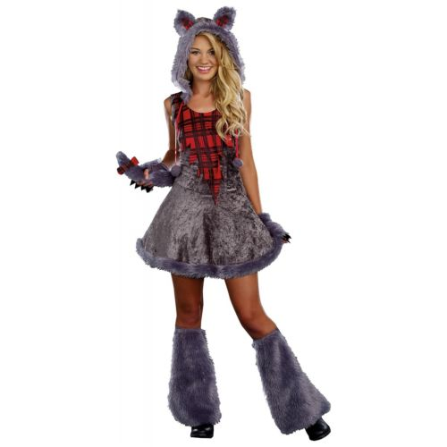 WerewolfTeen Big Bad ウルフ オオカミ 狼 Junior ガール ハロウィン コスチューム コスプレ 衣装 変装 仮装