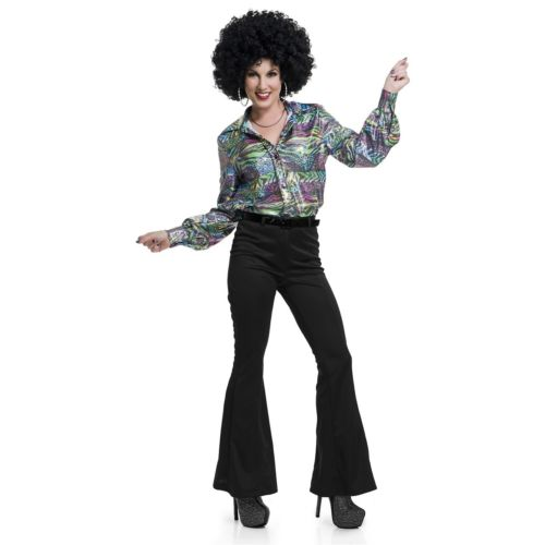 レディス 女性用 ディスコ パーティ クラブ Pants 大人用 ハロウィン コスチューム コスプレ 衣装 変装 仮装