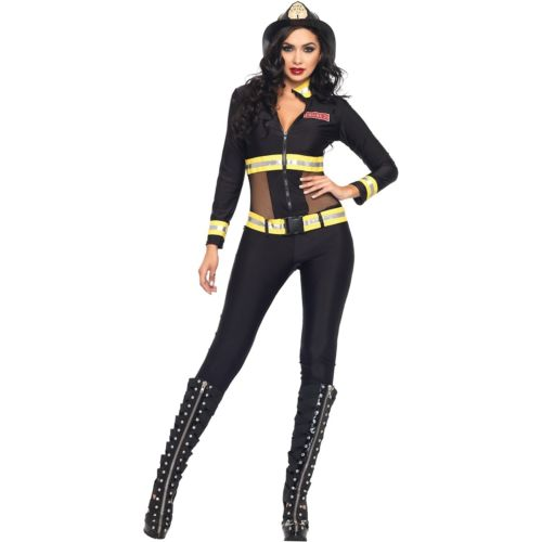 セクシー 消防士 レディス 女性用 大人用 Fireman ハロウィン コスチューム コスプレ 衣装 変装 仮装