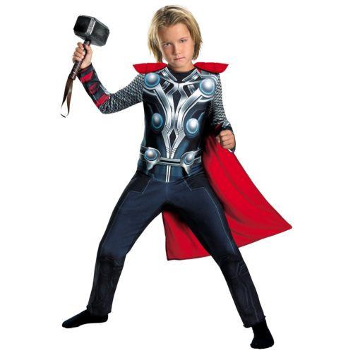 【ポイント最大29倍●お買い物マラソン限定!エントリー】Thor キッズ 子供用 Avengers アベンジャーズ スーパーヒーロー Up ハロウィン コスチューム コスプレ 衣装 変装 仮装