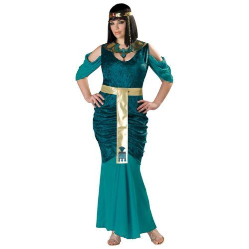 クレオパトラ 大人用 プラスサイズ 大きいサイズ エジプト 古代エジプト ハロウィン コスチューム コスプレ 衣装 変装 仮装