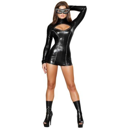 セクシー Cat 大人用 レディス 女性用 Masquerade Kitty クリスマス ハロウィン コスチューム コスプレ 衣装 変装 仮装