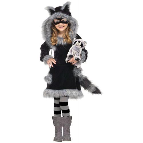 Raccoon キッズ 子供用 ガールズ キッズ 子供用 /Toddler Cute ハロウィン コスチューム コスプレ 衣装 変装 仮装