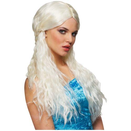 【ポイント最大29倍●お買い物マラソン限定!エントリー】Daenerys Targaryen Wig 大人用 レディス 女性用 Game Of ThronesKhaleesi ハロウィン コスチューム コスプレ 衣装 変装 仮装