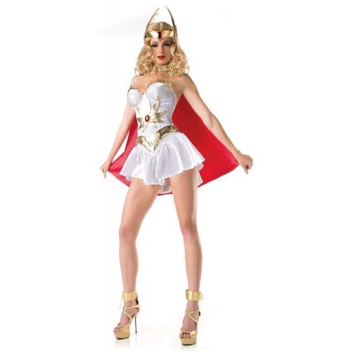 【全品P5倍】She-Ra 大人用 レディス 女性用 Supehero Warrior Princess クリスマス ハロウィン コスチューム コスプレ 衣装 変装 仮装