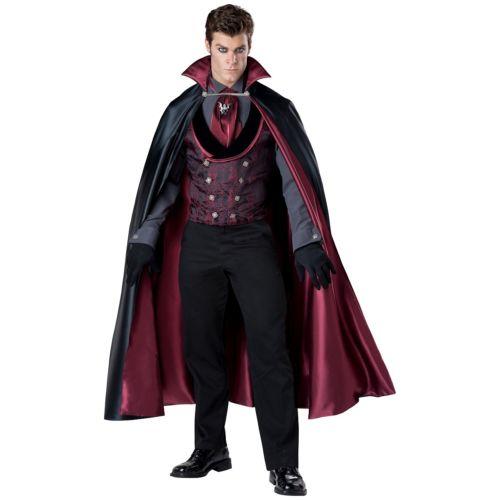 Dracula 大人用 Victorian バンパイア 吸血鬼 ハロウィン コスチューム コスプレ 衣装 変装 仮装