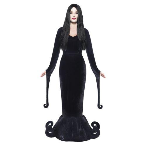 Morticia 大人用 バンパイア 吸血鬼 Creepy ゴシック ハロウィン コスチューム コスプレ 衣装 変装 仮装