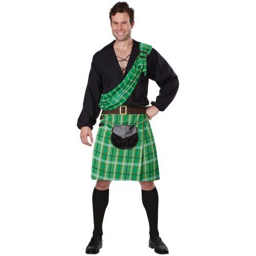 【ポイント最大29倍●お買い物マラソン限定!エントリー】Kiltsman 大人用 St. Patrick's Day ハロウィン コスチューム コスプレ 衣装 変装 仮装