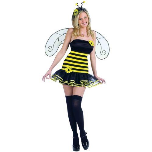 【ポイント最大29倍●お買い物マラソン限定!エントリー】Honey Bee 大人用 レディス 女性用 セクシー Bumble ガール Bug ハロウィン コスチューム コスプレ 衣装 変装 仮装