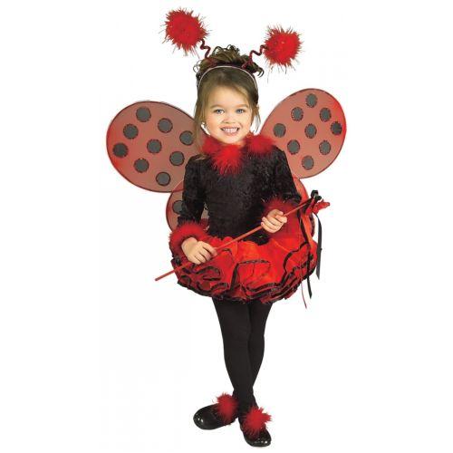 【ポイント最大29倍●お買い物マラソン限定!エントリー】Deluxe Lady Bug キッズ 子供用 ドレス Wings & Headband ハロウィン コスチューム コスプレ 衣装 変装 仮装