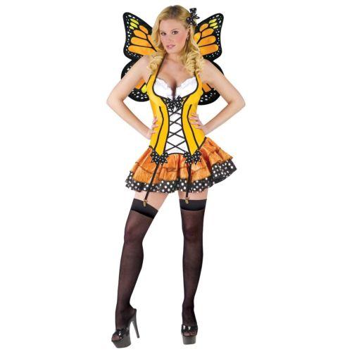 【ポイント最大29倍●お買い物マラソン限定!エントリー】Monarch Butterfly 大人用 セクシー Fairy ハロウィン コスチューム コスプレ 衣装 変装 仮装