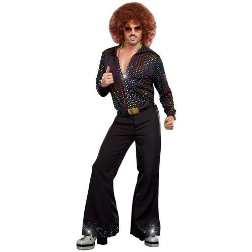 ディスコ パーティ クラブ 大人用 シャツ おもしろい 70s 男性用 メンズ ハロウィン コスチューム コスプレ 衣装 変装 仮装