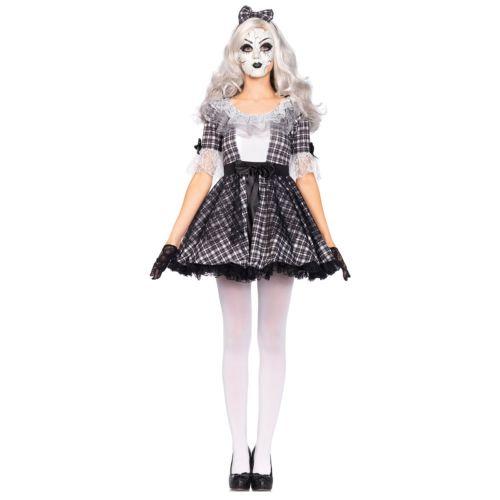 Broken Doll 大人用 Creepy ハロウィン コスチューム コスプレ 衣装 変装 仮装