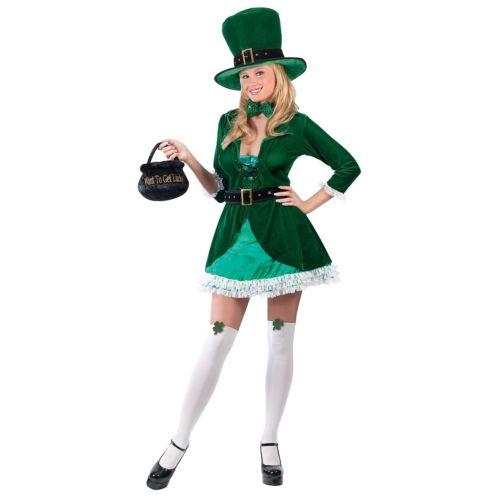 セクシー Leprechaun 大人用 レディス 女性用 St. Patrick's Day Irish クリスマス ハロウィン コスチューム コスプレ 衣装 変装 仮装