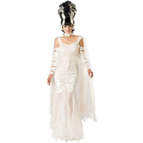 【マラソン全品P5倍】Bride of Frankenstein 大人用 Deluxe モンスター Bride クリスマス ハロウィン コスチューム コスプレ 衣装 変装 仮装