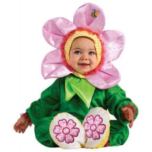 Pink Pansy ベイビーDaisy Flower バンブルビー Cute ハロウィン コスチューム コスプレ 衣装 変装 仮装