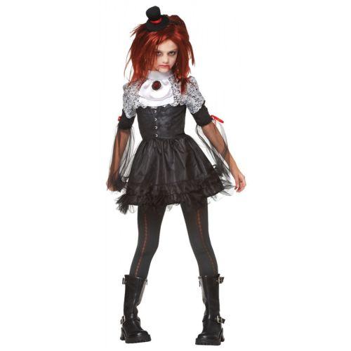 怖い Doll キッズ 子供用 Victorian バンパイア 吸血鬼 ゴシック ハロウィン コスチューム コスプレ 衣装 変装 仮装