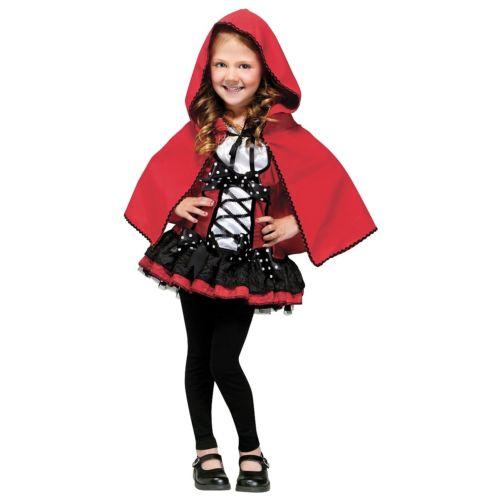Little Red Riding Hood キッズ 子供用 Fairy Tale ハロウィン コスチューム コスプレ 衣装 変装 仮装