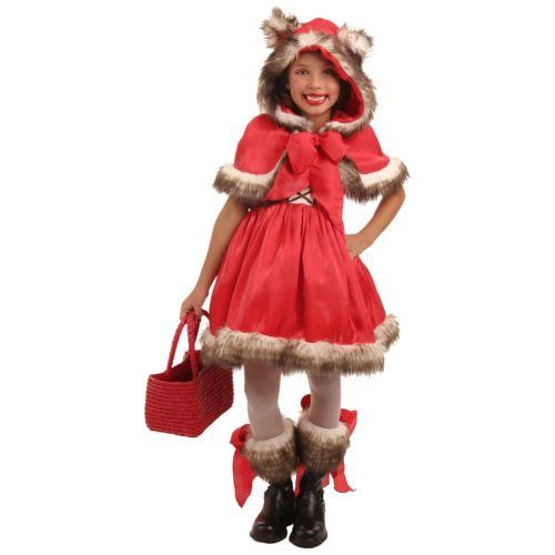 【全品P5倍】Little Red Riding Hood キッズ 子供用 ウルフ オオカミ 狼 クリスマス ハロウィン コスチューム コスプレ 衣装 変装 仮装