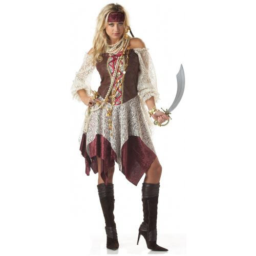 Pirateレディス 女性用 大人用 ジプシー 大人用 Wench 女性用 ハロウィン コスチューム コスプレ ジプシー 衣装 変装 仮装, 美食街道:48548cb2 --- officewill.xsrv.jp