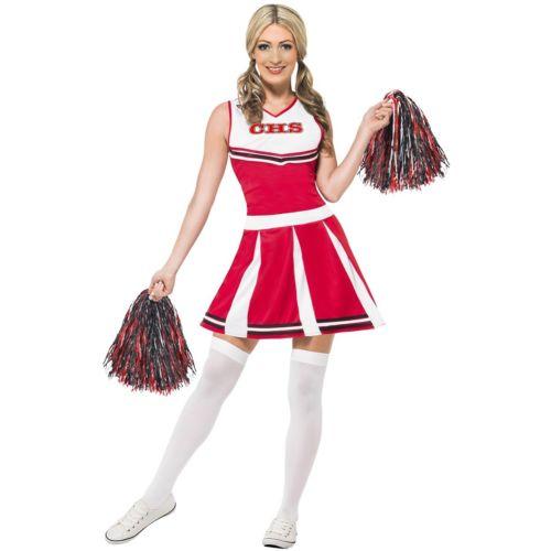 Cheerleaderレディス 女性用 大人用 ハロウィン コスチューム コスプレ 衣装 変装 仮装