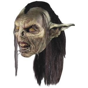 Moria Orc マスク Lord of the Rings ロードオブザリング 大人用 男性用 メンズ Goblin LOTR クリスマス ハロウィン コスチューム コスプレ 衣装 変装 仮装