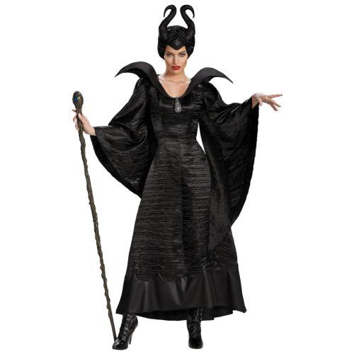 MaleficentDeluxe 大人用  クリスマス ハロウィン コスチューム コスプレ 衣装 変装 仮装