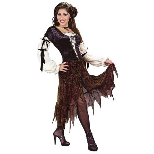ジプシー Rose 大人用 占い師 Bohemian Peasant ハロウィン コスチューム コスプレ 衣装 変装 仮装