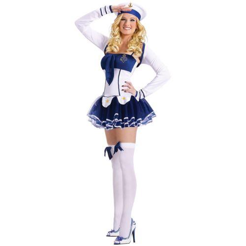 セクシー セーラー 海兵 マリンレディス 女性用 Pinup ガール クリスマス ハロウィン コスチューム コスプレ 衣装 変装 仮装