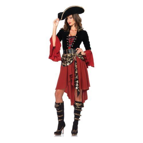 レディス 女性用 Pirate 大人用 ハロウィン コスチューム コスプレ 衣装 変装 仮装