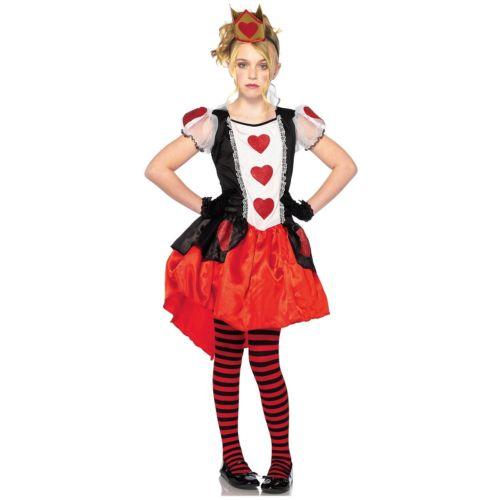 Wonderland Queen of Hearts キッズ 子供用 Size Cute ハロウィン コスチューム コスプレ 衣装 変装 仮装